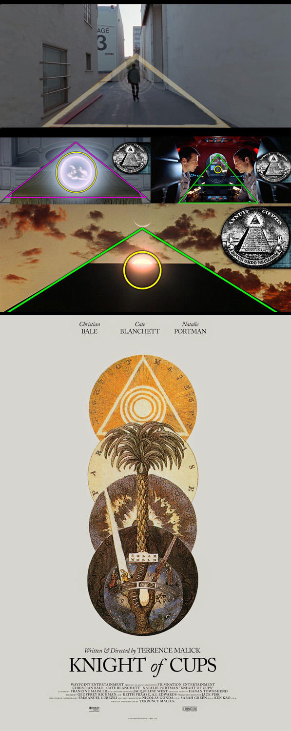 Terrence Malick Stanley Kubrick Eye of Horus, Eye of Providence, Illuminati