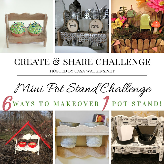 Mini Planter Re-Imagined, A Create & Share Challenge