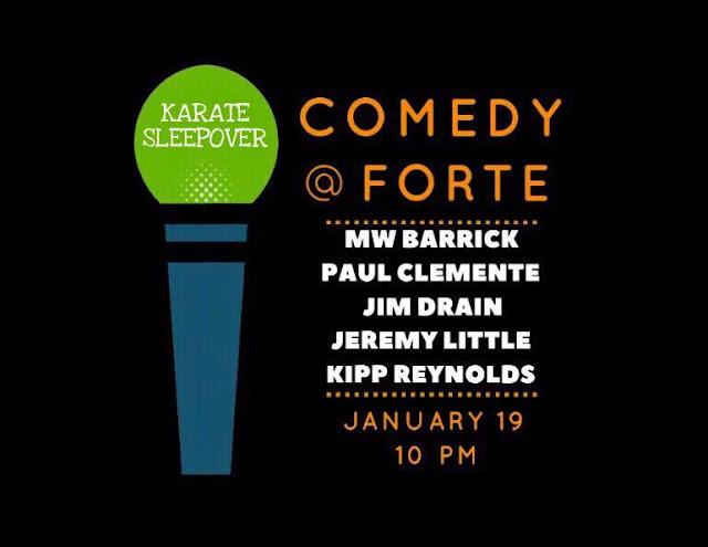 Karate Sleepover at Forte!