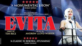 Evita on Tour Poster