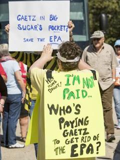 Protest%2B1 In: Northwest Florida Congressman Matt Gaetz faces fury over EPA elimination bill | Our Santa Fe River, Inc. (OSFR) | Protecting the Santa Fe River in North Florida