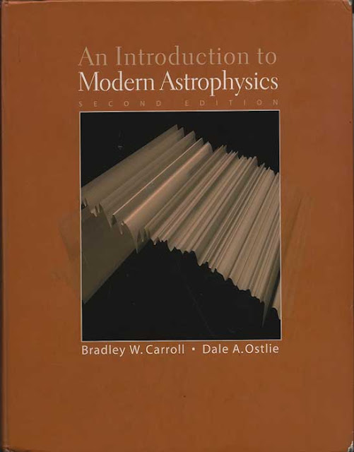 Palmia Observatory staff use this classic text by Caroll and Ostli to study astrophysics