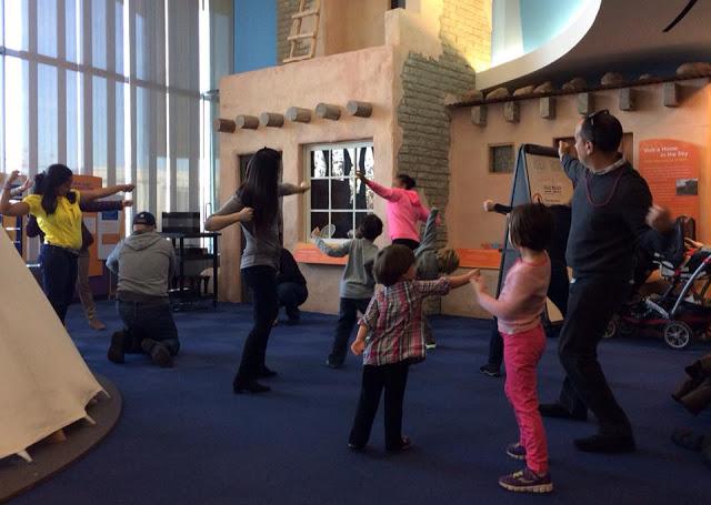 photograph of Maura Garcia Dance workshop