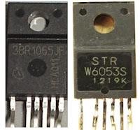 STR W6053S dan ICE3BR1065JF