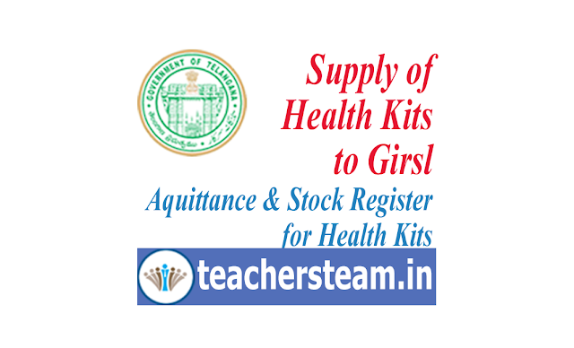 aquittance for health kits