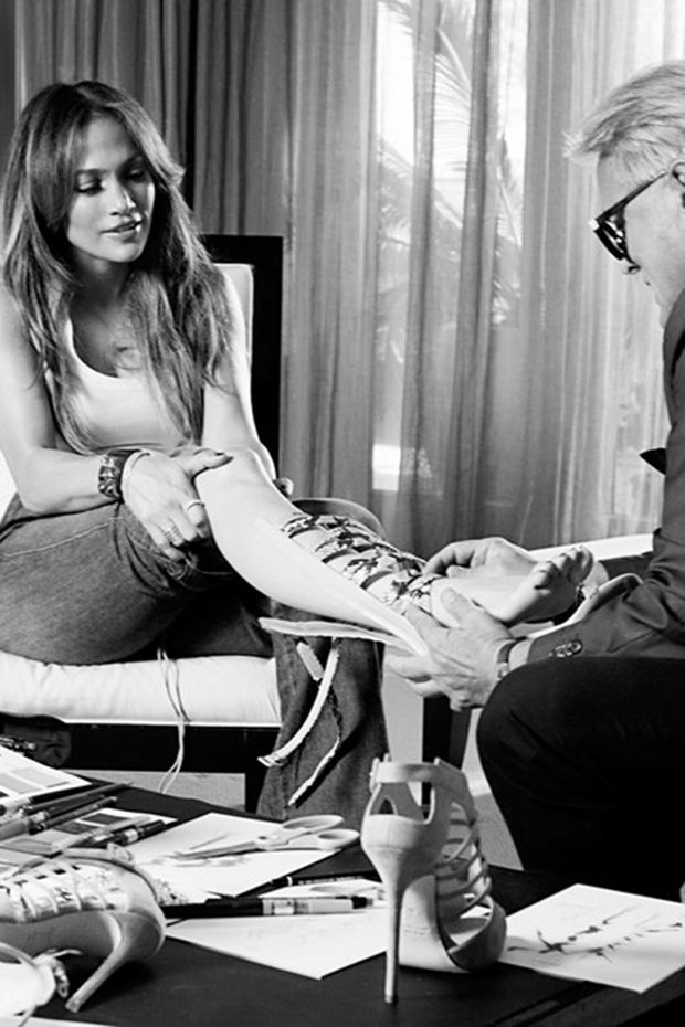 Jennifer Lopez and Giuseppe Zanotti Launching a Shoe Line