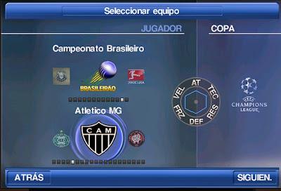 Pes 2015 + Libertadores + Brasileirão 2015 Apk Atualizado