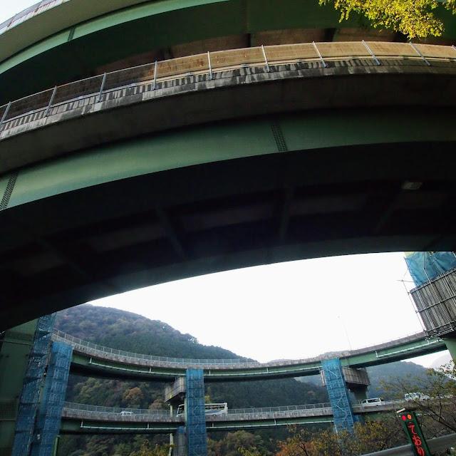 下田街道 河津七滝ループ橋