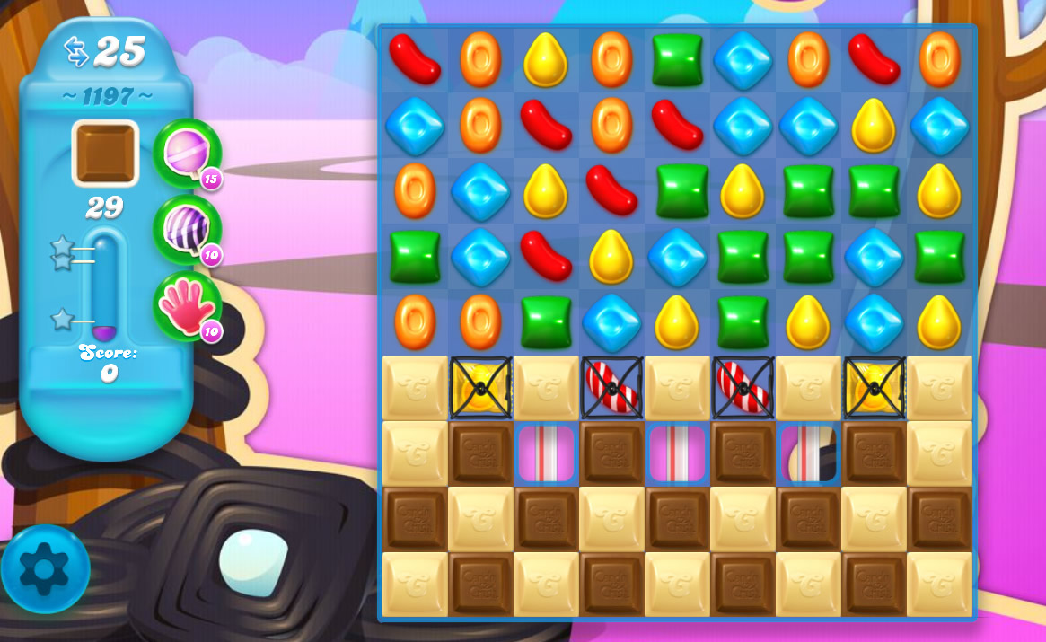 Candy Crush Soda Saga level 1197