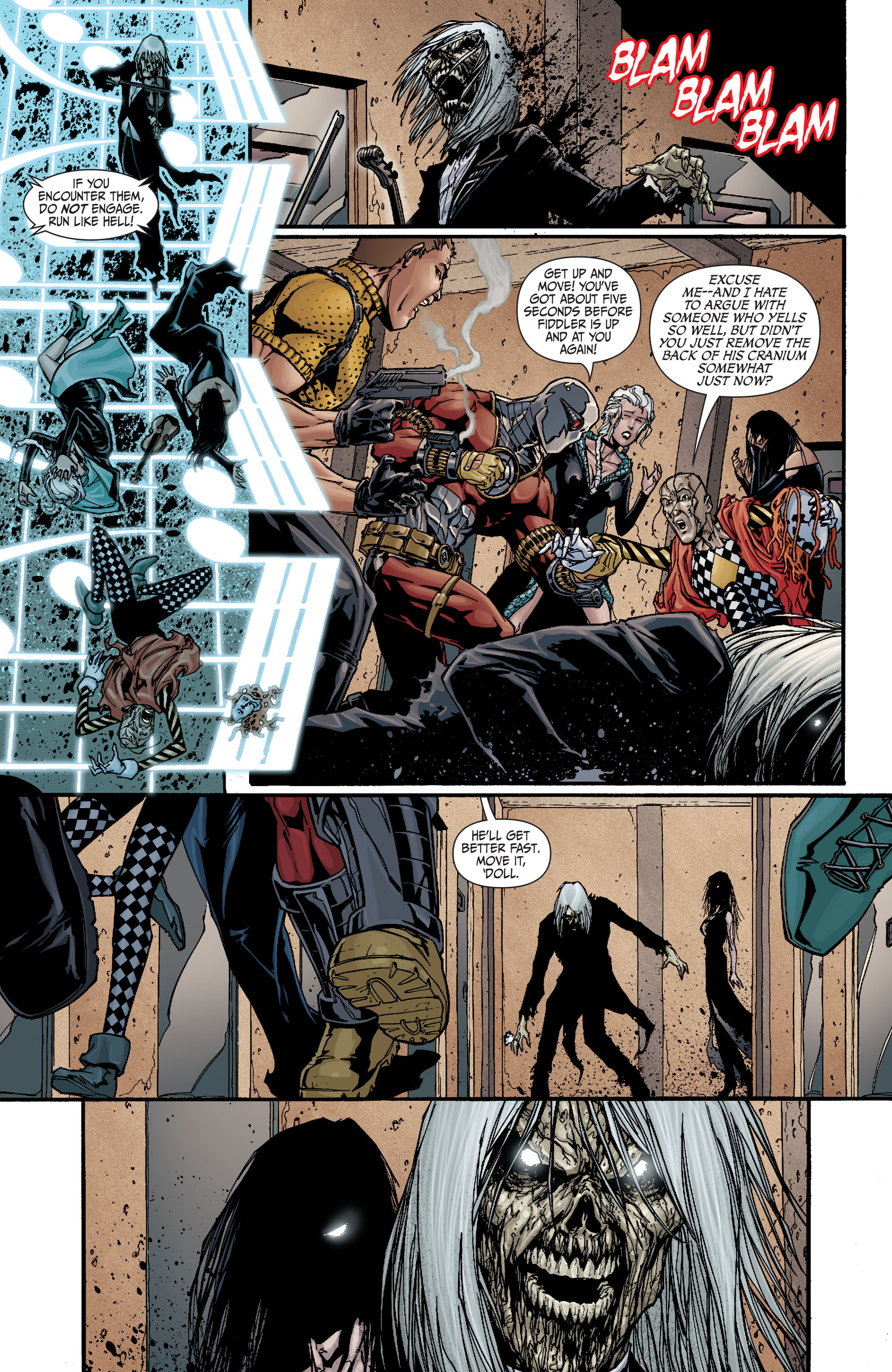 Read online Secret Six (2008) comic -  Issue #18 - 3