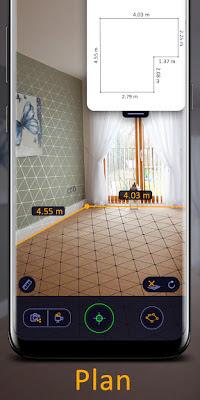 تطبيق AR Ruler App Pro لقياس المسافات من خلال الكاميرا للأندرويد unnamed+%2878%