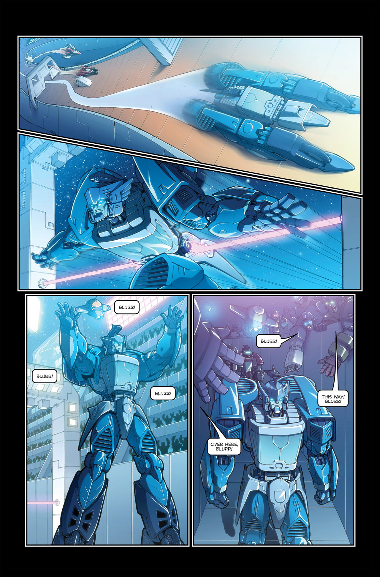Read online Transformers Spotlight: Blurr comic -  Issue # Full - 6