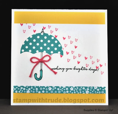 Stamp with Trude, Weather Together, encouragement, Stampin' Up!, #SUO