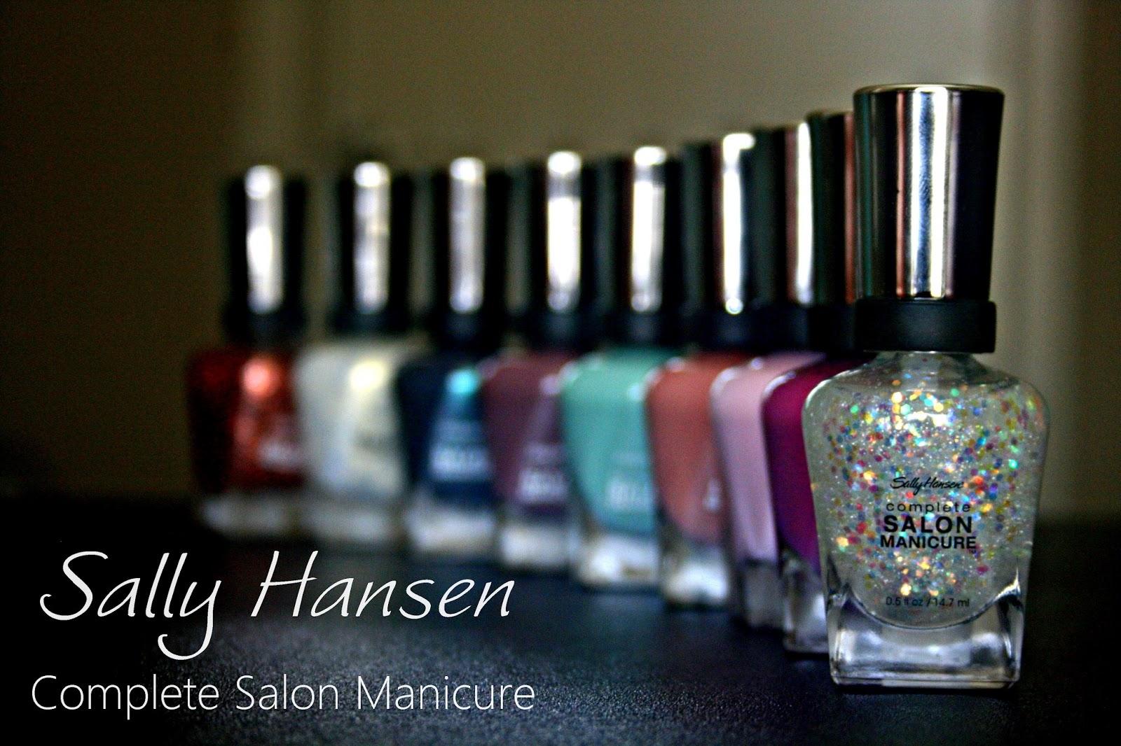 makeup beauty and more sally hansen complete salon. Black Bedroom Furniture Sets. Home Design Ideas