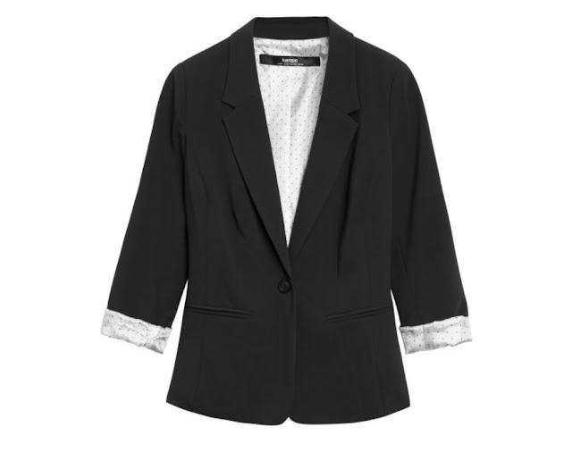 Kensie Rebekah Stretch Crepe Blazer, Stitch Fix October 2016