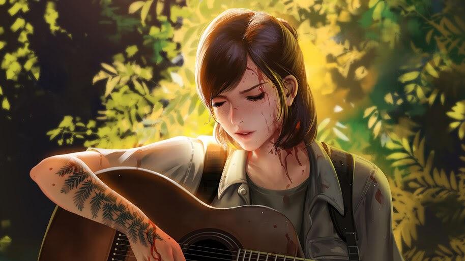 Ellie, The Last of Us Part 2, Art, 4K, #5.2475