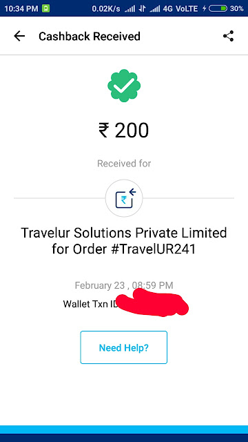 travelur-paytm-proof-tricksnomy