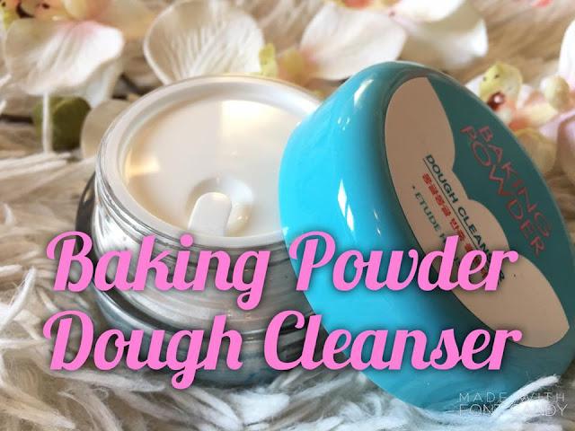 (K-beauty) Le Baking Powder Dough Cleanser d'Etude House : Un nettoyant pour une peau parfaitement propre.