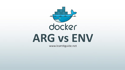 Docker ARG vs ENV Command Differences Explained in Detail