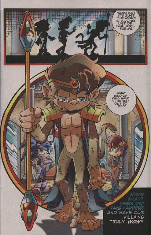 Read online Sonic The Hedgehog comic -  Issue #202 - 18