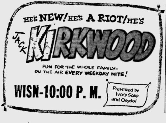 OTR Advertisements: Jack Kirkwood (Ivory Soap/Oxydol)