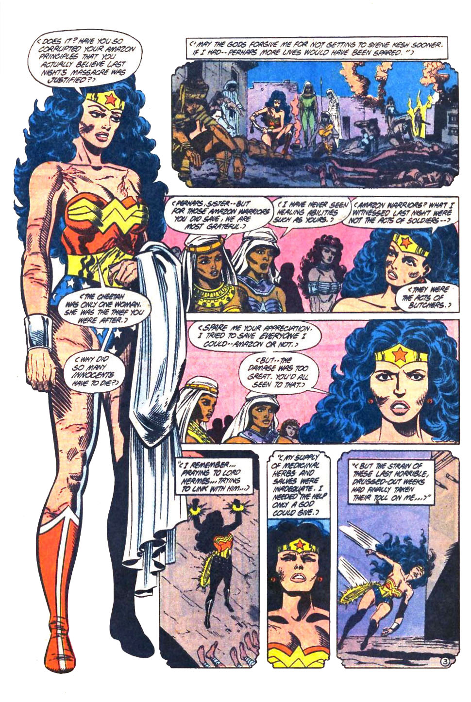 Read online Wonder Woman (1987) comic -  Issue #33 - 4