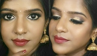 Traditional Makeup-Indian Style Makeup for Dark Skin