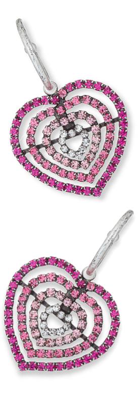 Dannijo Constance Heart Earrings