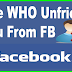 How to Find who Unfriended You Facebook