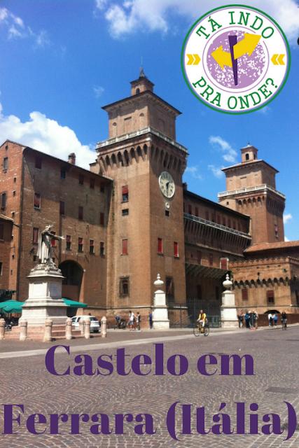 Como é o maravilhoso Castelo Estense em Ferrara, Itália