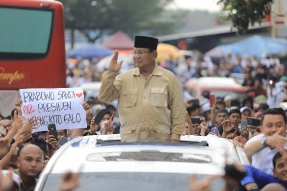 Didukung Ulama, Fitnah Prabowo Dirikan Khilafah Terbantah