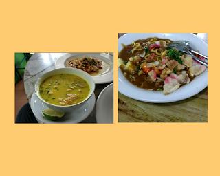 kuliner soto udang dan mie rebus udang rm langkat berseri tanjung pura