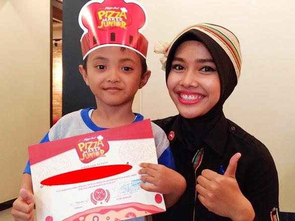 Belajar Memasak di Pizza Maker Junior