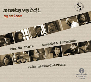Carátula cd Monteverdi Sessions