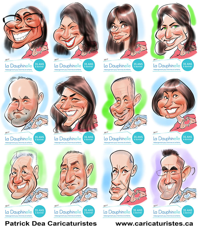 caricature, caricaturiste, événement, marketing, event