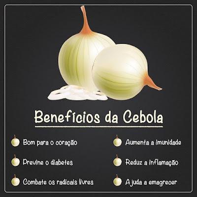 Cebola - Inclua na sua alimentação diária e viva mais