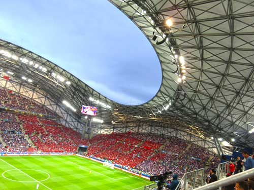 France v Albania, Marseille, Euro 2016.