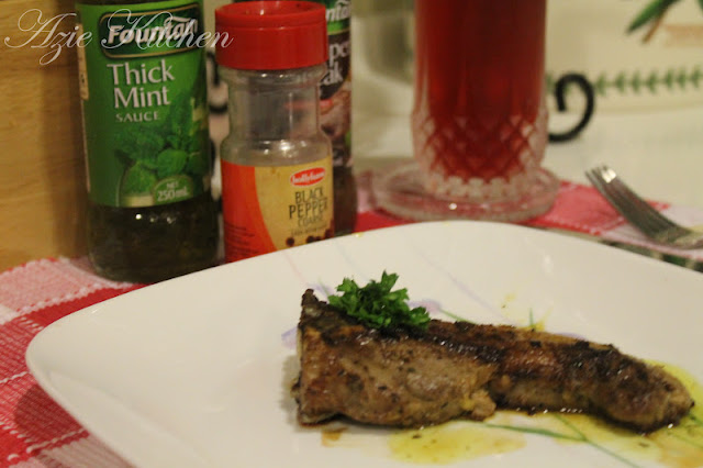 Lamb Chops With Mint Salsa