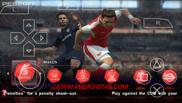 PES Army 2017 ISO for PSP PPSSPP