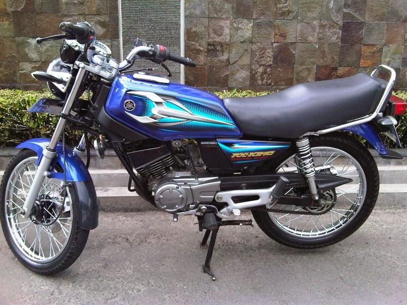 Motorcycle Yamaha Rx King