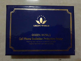 Cell Phone Radiation Protection Paster Green World