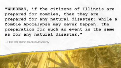 Illinois, per legge i cittadini dovranno saper affrontare gli Zombie