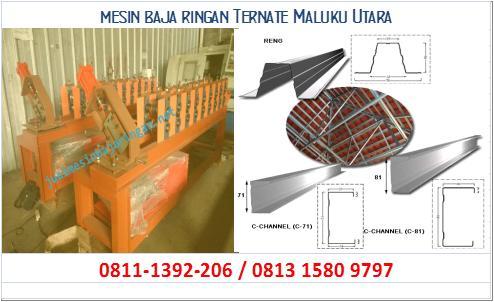 mesin baja ringan Ternate Maluku Utara