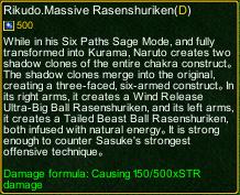 naruto castle defense 6.2 naruto Rikudo.Massive Rasenshuriken detail
