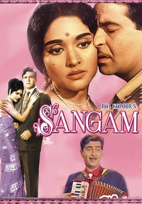 Poster of Sangam 1964 Full Movie [Hindi DD5.1] 720p BluRay ESubs Download