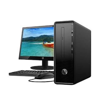 HP 570-P003D Desktop PC - intel core Ci3-7100 | bali komputer - komputer murah bali
