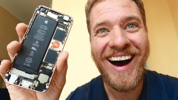 """مهندس ينجح في """"صناعة"""" آيفون 6S بنفسه وبتكلفة جد منخفضة"""