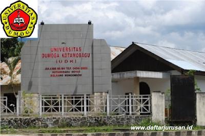 Daftar Fakultas dan Program Studi UDK Universitas Dumoga Kotamobagu