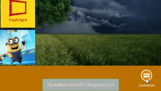 Cara Membuat dan Menamai Grup di Start Screen Windows 8.1