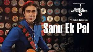 Sanu Ek Pal Acoustic Lyrics